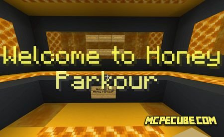 Honey Block Parkour Map