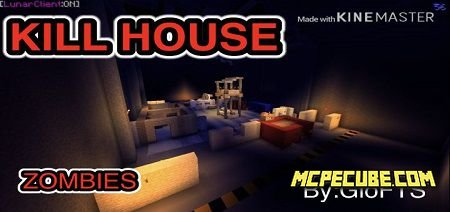 Kill House Zombies Map