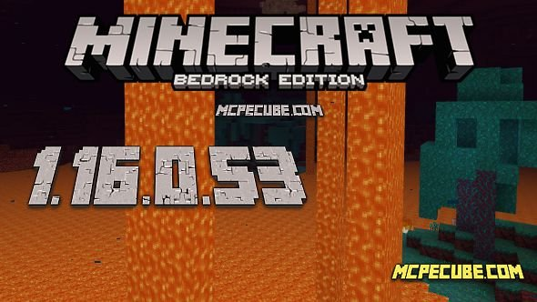Minecraft 1.16.0.53 for Android
