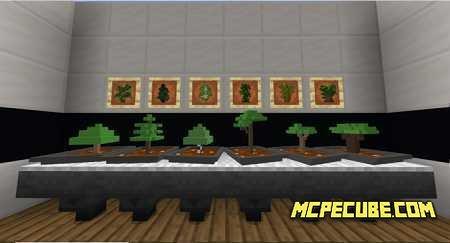 Easy Bonsai Add On 1 15 1 14 Minecraft Bedrock Addons Mod