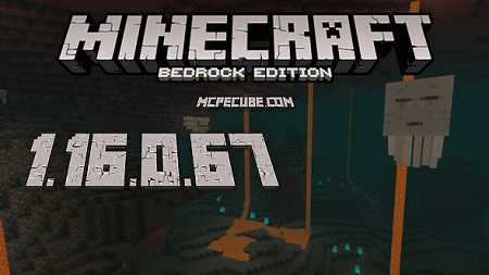 Minecraft PE 1.16.0.67 for Android