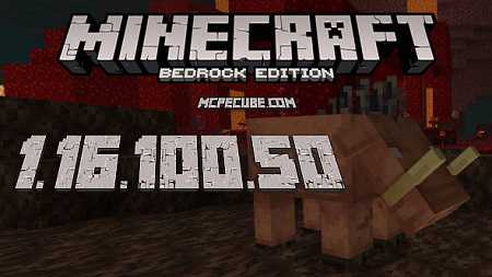 Minecraft PE 1.16.100.50 for Android