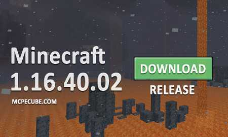 Minecraft PE 1.16.40 for Android