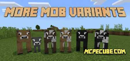 More Mob Variants Add-on 1.16+