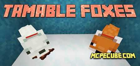Tamable Foxes Add-on